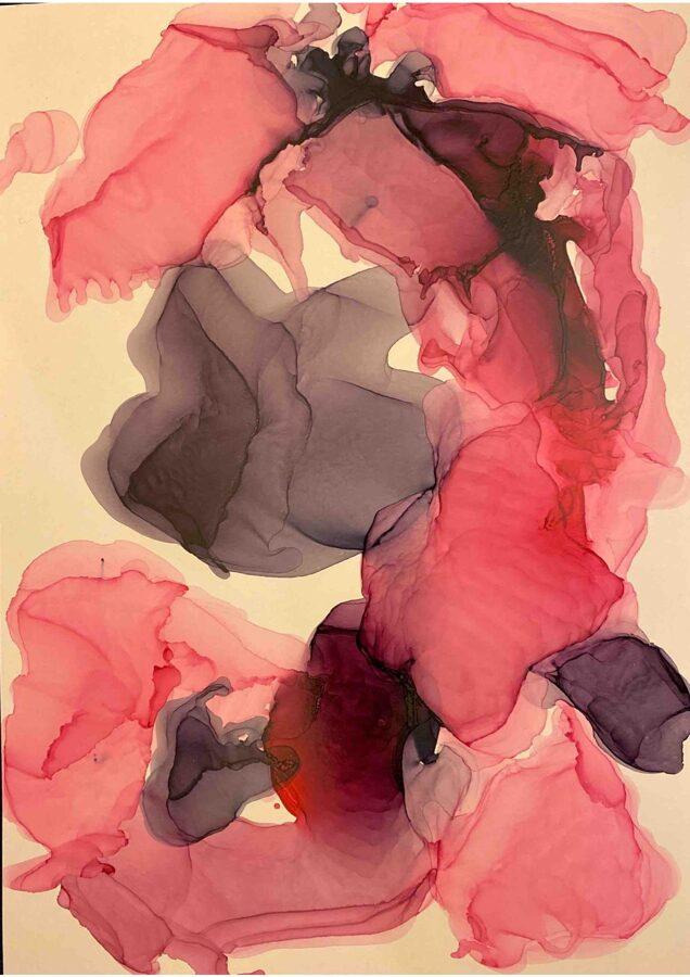 """D.Rudāne - abstrakcija  """"Romantika"""""""