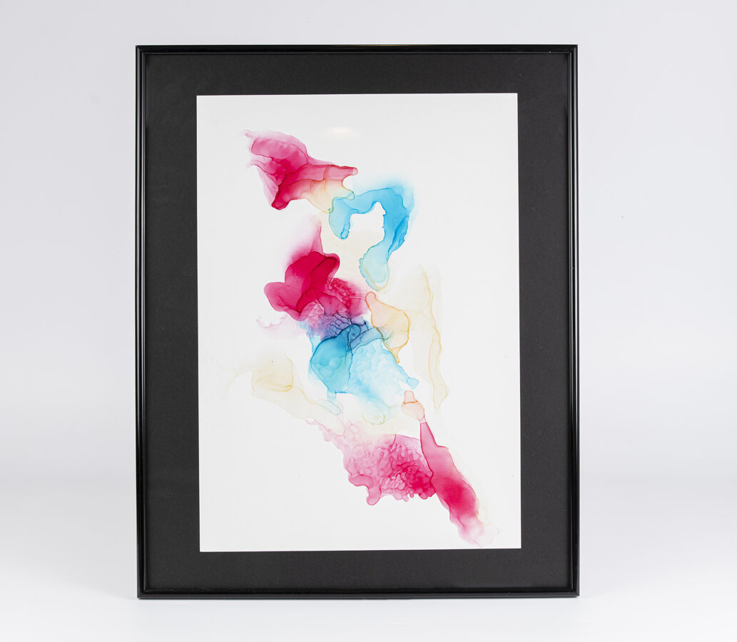 "D.Rudāne - abstrakcija ""Medūzas"""