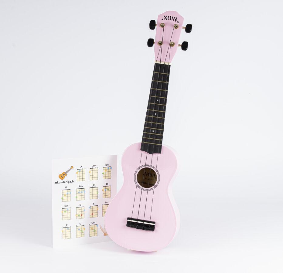 Katrīna Dimanta – ukulele  «Soprāns» (rozā)