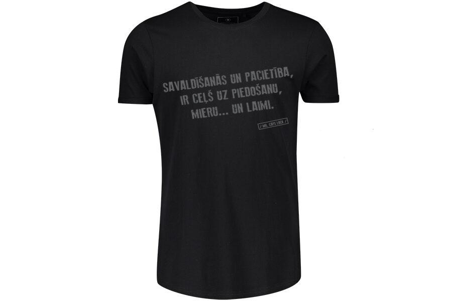 MR. Caps Lock T-shirt black