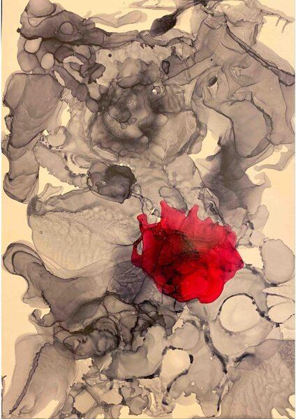 """D.Rudāne - abstrakcija  """"Īpašā"""""""