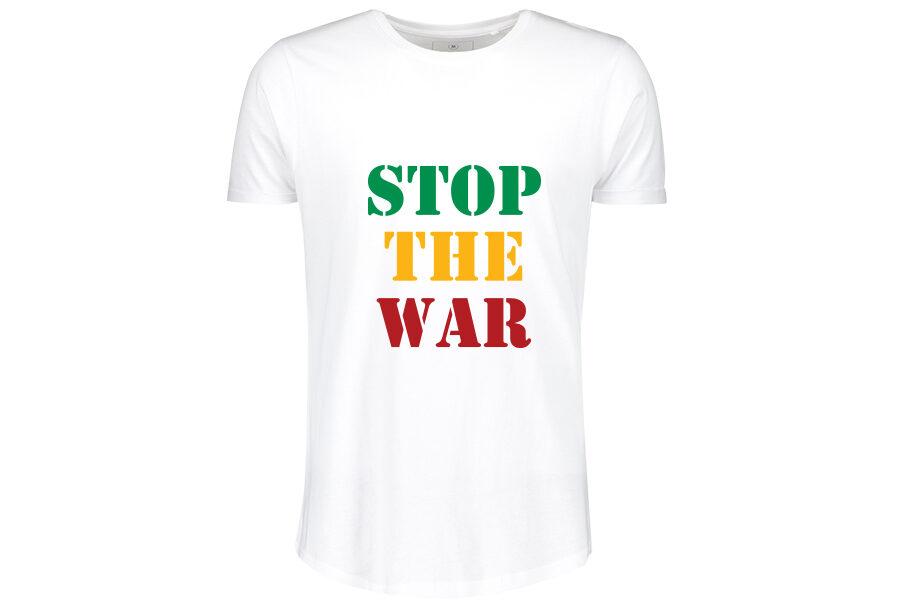 Stop The War T-shirt white