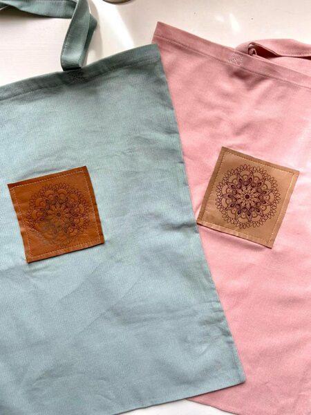 Patrishas auduma tašiņas ar mandalu