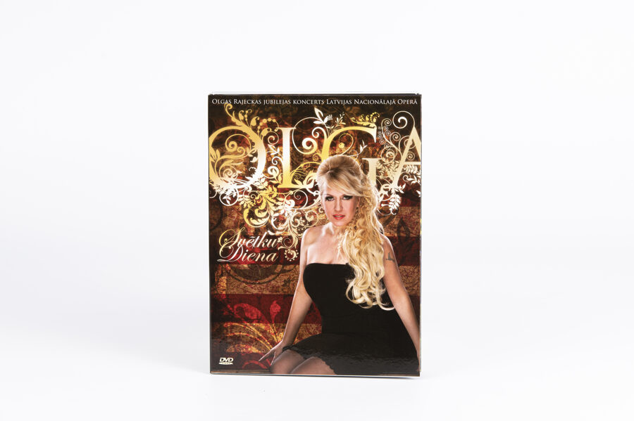 """Olgas Rajeckas DVD """"Svētku diena"""""""