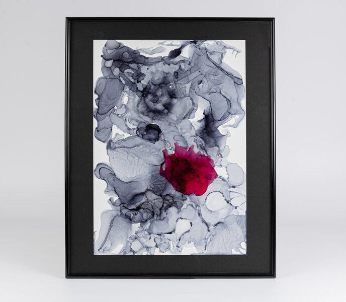 """D.Rudāne - glezna """"Apstrakcija Īpašā"""""""